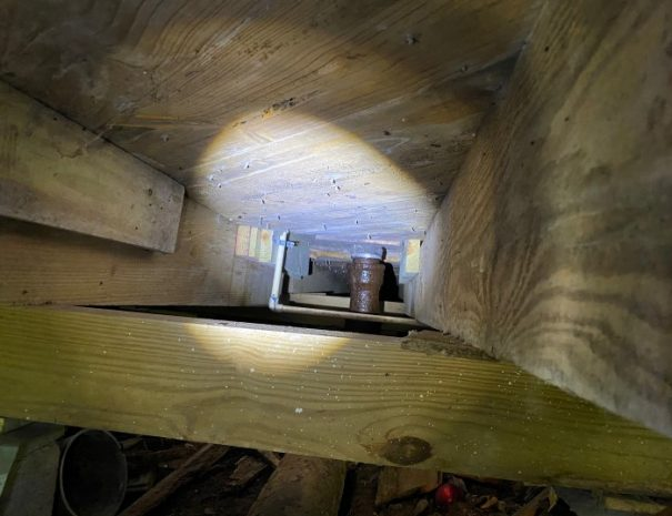 pier and beam inspection
